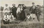 Adolphe Piriou et sa famille
